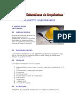 REGLAMENTO DE HONORARIOS ARQUITECTOS