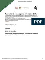 Instrumento programas autoevaluación