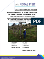 1. Informe de Valorizacion N° 01 CONSORCIO PISTAS PISIT