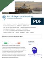 Sistema de Gestión de Almacenes WMS - Arrizabalagauriarte Consulting