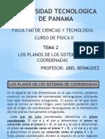 2-PLANOS DE COORDENADAS