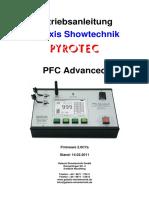 Bedienungsanleitung-PFC-Advanced