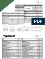 Ficha Técnica New Mazda2 Sport