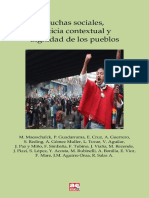 Luchas Sociales, Justicia Contextual y Dignidad de Los Pueblos. Comp. R. Salas Astrain