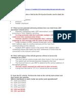 Tercer exámen CCNA V7 Introducción to Network - Módulo 8 a 10