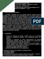 0 - Estética - Programa