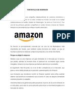 PORTAFOLIO DE INVERSION