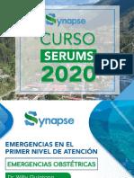 3. SERUMS 2020 - EMERGENCIAS OBSTÉTRICAS