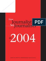 pew research how journalists see journalists 2004