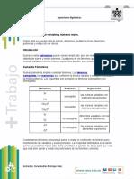 Taller de Matematuicas SENA EXPRESIONES ALGEBRAICAS