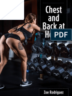 Zoe Rodriguez -  Chest and Back (Home)