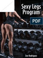 Zoe Rodriguez - Sexy Legs Program