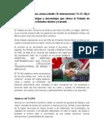 Ventajas y desventajas que ofrece el Tratado de Libre Comercio