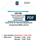 ARC 628 Presentation
