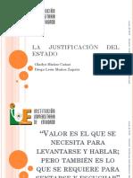 LA JUSTIFICACIÓN DEL ESTADO 2013