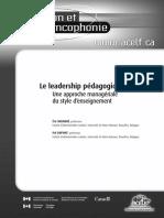leadership pédagogique