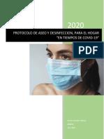 Protocolo de Aseo y Desinfección