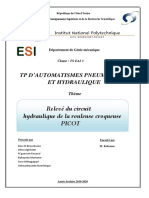 PROJET HYDRAULIQUE