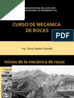 2018 - INTRODUCCION CURSO DE MECÁNICA DE ROCAS
