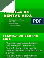 Tecnicas de Ventas AIDA ppt