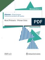 Primaria-Ateneo-Didáctico-1-Primer-Ciclo-lengua-Carpeta-Participante