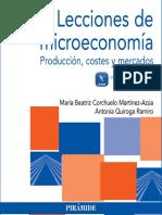 Lecciones de Microeconomía Producción, Costes y Mercados