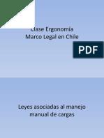 Clase 14 Leyes asociadas al manejo manual de cargas