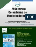 CONGRESO COLOMBIANO DE MEDICINA INTERNA 2016 impresion.ppt