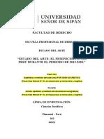 EL FEMINICIDIO en el peru 2015-2020