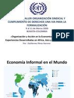 «Organización y Acción en la Economía Informal» Experiencias Desarrolladas en Africa, Asia y América Latina