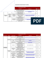 Anexo 1. Listado de cursos