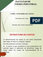 ICv  SEMANA 03 ESTRUCTURA DE COSTOS