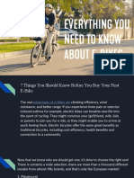 Everything You Need to Know About Electric Bike
