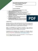 GUIA DE APRENDIZAJE 1 ELECTRONICA ANALALOGA