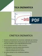 ENZIMAS CINETICA 2014