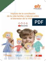 Observatorio-efr-impacto de la conciliación de la vida familiar y laboral sobre el bienestar de la infancia