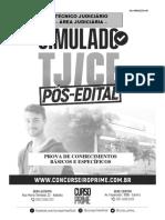 Simulado TJ 1 - Pós Edital
