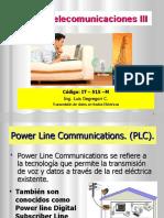 Curso Telecom III - TxDx por Redes Electricas 2019