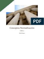 Conceptos Normalización