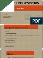 Presentation UPGMA
