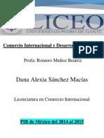 PIB EN MÉXICO (1)