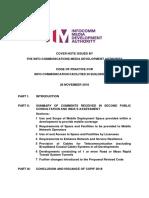Explanatory Memorandum COPIF 2018 Decision