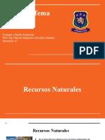 Recursos Naturales y Arenas naturales protegidas