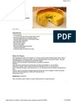 torta folhada de queijo