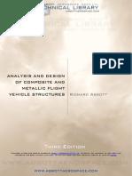 ANALYSIS & DESIGN OF COMPOSITE & METALLIC FLIGHT VEHICLE STRUCTURES - ABBOTT - 2019 - THIRD EDITION