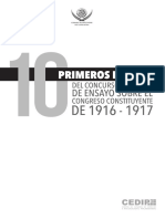 A cien años del Congreso Constituyente de 1916-1917 - Islas Santiago