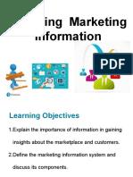 Chap 3-Marketing Information & Customer Insights