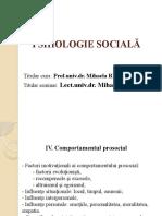 CURS 4.  PSIH. SOCIALA