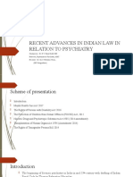 recent advances in Indian law in relation to psychiatry-1