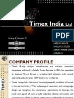 Timex case study